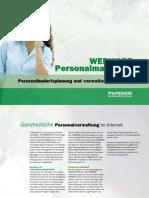 WEBWARE Personalmanagement - Personalbedarfsplanung und -verwaltung im Internet
