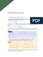 Matemáticas - Sucesiones y Series