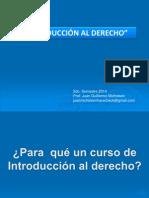 Introducción Al Curso 2014