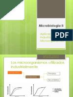 1 Aplicación Industrial de Microorganismos y Levaduras