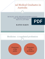 International Medical Graduates in Australia
