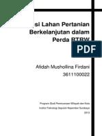 Evaluasi I Tata Guna Lahan 2014