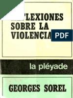 Georges Sorel. Reflexiones Sobre La Violencia.pdf