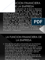 La Funcion Financiera de La Empresa