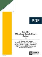 Zebranet Wireless Qsg En