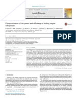 Characterization of the Power and Efficiency of Stirling Engine Subsystems 2014 Applied Energy
