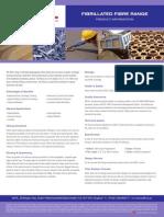 Fibrillated Fibre Range Product Information