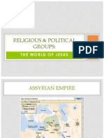 religious and political groups in the gospels