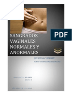 Sangrado Vaginal Normal