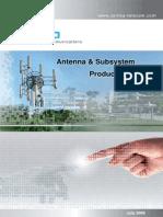 Comba Antenna and Subsystem Product Catalogue v1.0_2009