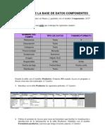 Práctica 3 Base Datos Componentes