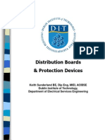 Distribution Boards  Protection Devices ~ PPT