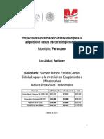 Proyecto Paracuaro