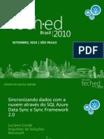 Sincronizando Dados Com a Nuvem Atravc3a9s Do SQL Azure Data Sync e Sync Framework 2 0