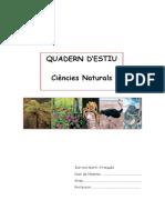 Quadern d'Estiu Ciencies Naturals 1r d'Eso