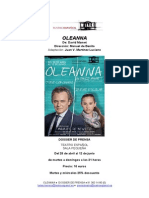 Dossier OLEANNA