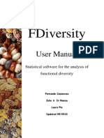 Manual FDiversity