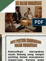 Komunikasi Dalam Organisasi - SUSI