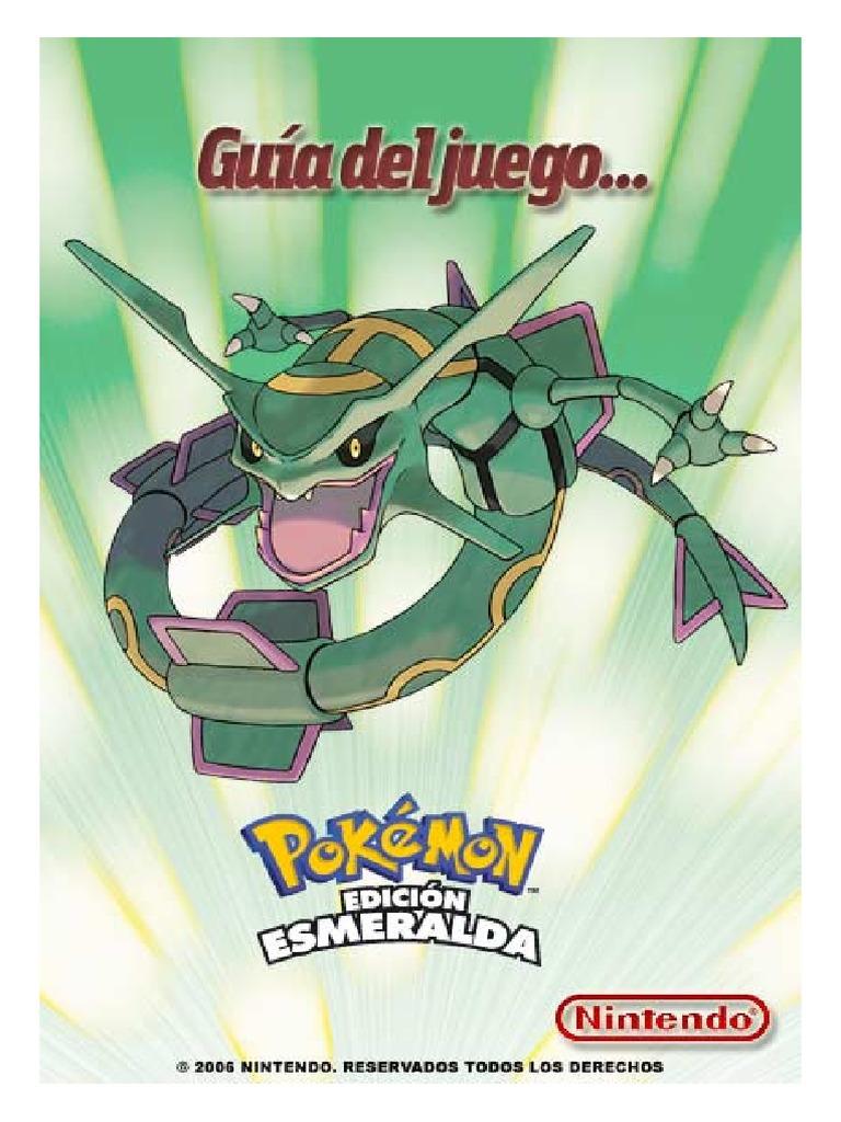 Descargar guia oficial pokemon esmeralda pdf