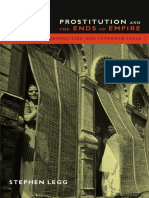 Prostitution and the Ends of Empire by Stephen Legg