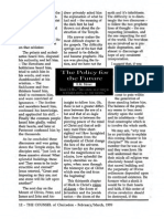 1999 Issue 2 - The Policy for the Future - Counsel of Chalcedon