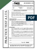 Jee Adv Practice Paper 1 Part 1