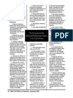 1999 Issue 4 - The Formation of the Reformed Presbyterian Church in the United States - Counsel of Chalcedon