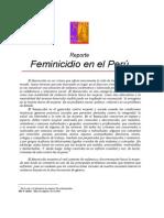 Feminicidio TRISTAN