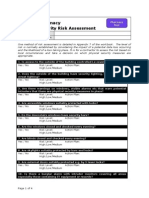 Physical Security Risk Assessment