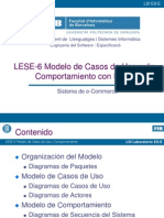 LESE-6 - Modelo de Casos de Uso y Comportamiento Con Rose
