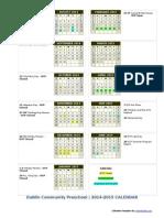 DCP 2014 School Calendar-final