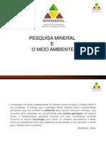 Pesquisa Mineral Meio Ambiente