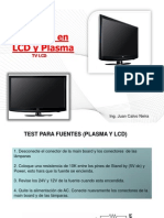 Test de Fuente e Inversora en LCD y Plasma