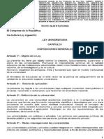Leyuniversitaria Texto26junio2014finalaprobadoenelpleno 140629181151 Phpapp01