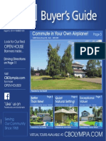 Coldwell Banker Olympia Real Estate Buyers Guide August 9th 2014