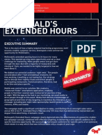 McDonald's Extended Hours