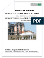 Steam Turbine Report