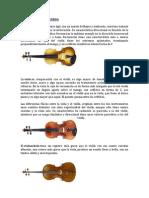 Dies Instrumentos de Cada Tipo