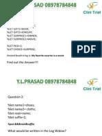 YLP SAS Advanced Certification Slides