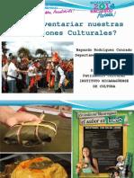 1.-Como Inventariar Nuestras Tradiciones Culturales Dpto Managua