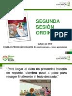 PRESENTACIÓN SEGUNDA SESIÓN DE CONSEJO TÉCNICO.ppt