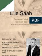 Elie Saab Timeline