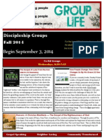 Group Life Catalog Fall 2014