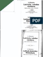 Latviešu Valodas Vardnica Vol 1