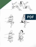 Desenhando-Linhas Do Ombro e Da Cintura Pélvica