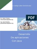 Terrero Henry Y Paredes Jose - Desarrollo de Aplicaciones Con Java