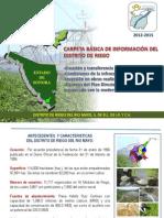 Carpeta de Informacion Basica Distrito de Riego Del Rio Mayo