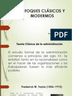Enfoques Clasicos y Modernos