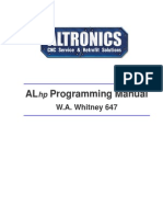 ALhp Software Reference Manual