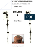 The Original Major Odu Ifa. Ile - Adedayo Ologundudu
